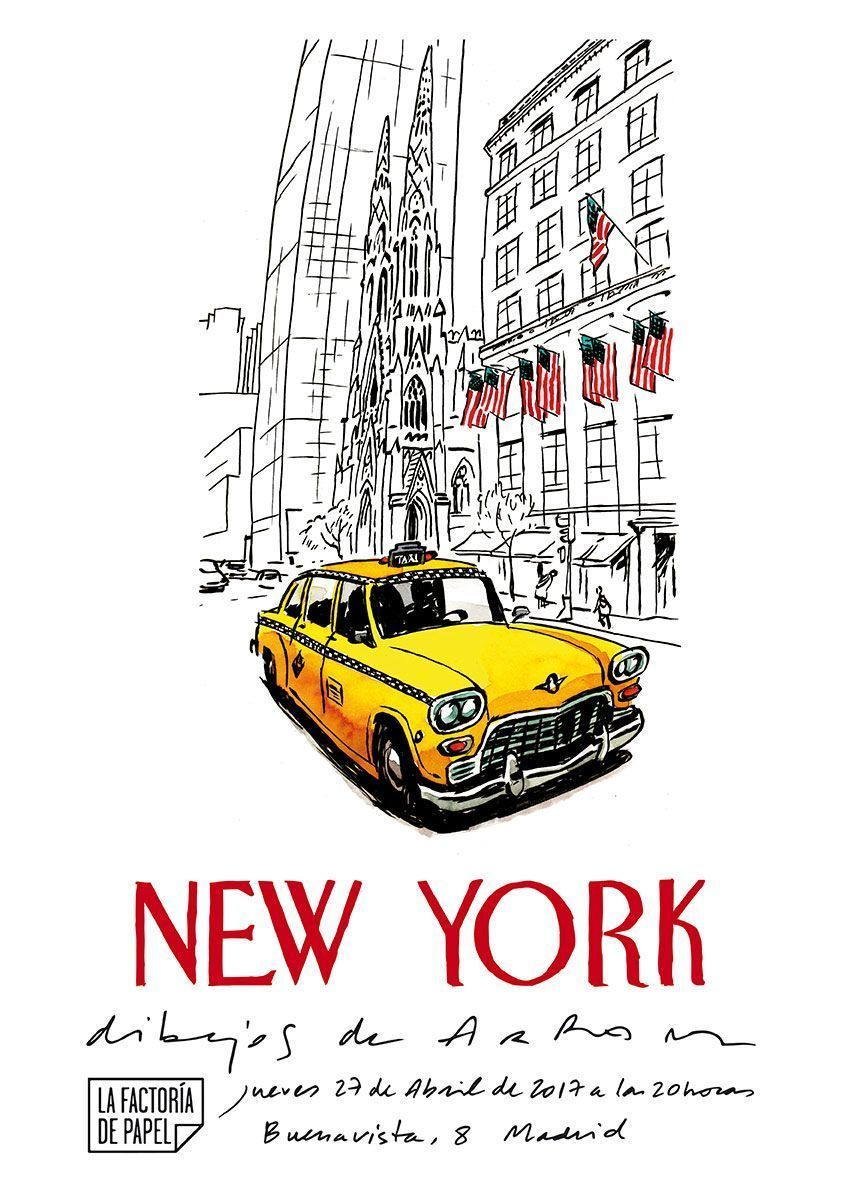 New York: Drawings by Arranz