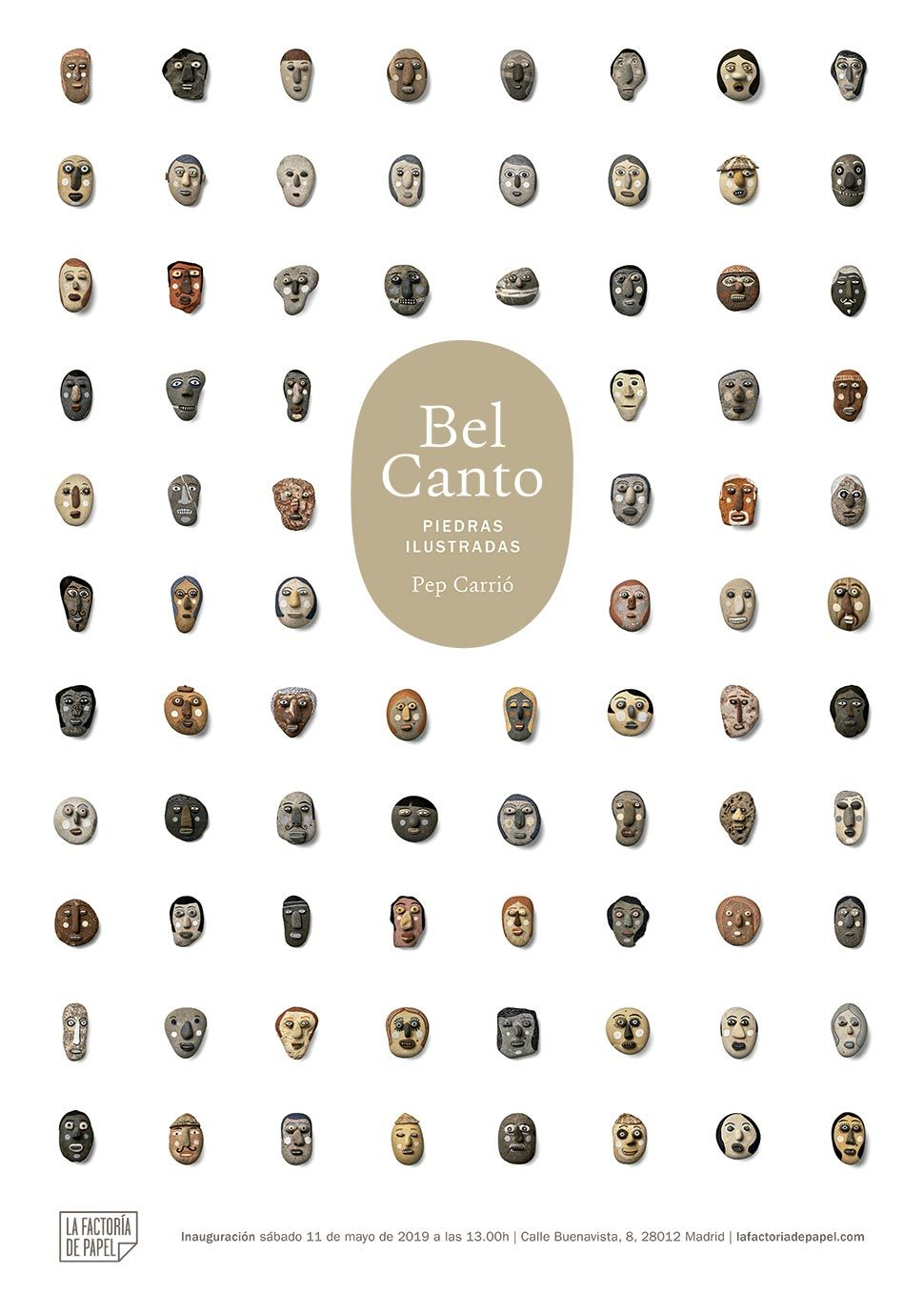 BEL CANTO Illustrated stones. Pep Carrió